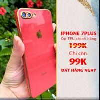 ỐP TPU VIỀN VUÔNG DÀNH CHO IPHONE 7 PLUS/ 8 PLUS ĐỎ (mới nhất)