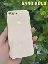 ỐP TPU VIỀN VUÔNG DÀNH CHO IPHONE 7 PLUS/ 8 PLUS VÀNG GOLD (mới nhất)