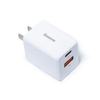 Bộ sạc nhanh đa năng Baseus Traveler Series PPS/ PD / QC 3.0 18W Quick Charger (2 Port USB + Type C)