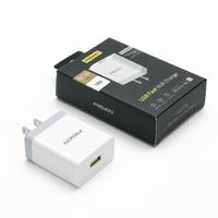 Sạc chính hãng Pisen USB Fast Wall Charger (USB QC3.0, 18W)
