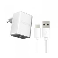 Sạc Energizer HT 2.4A 2USB Kèm cáp sạc USB Type-C 2.0 - ACW2BEUHC23
