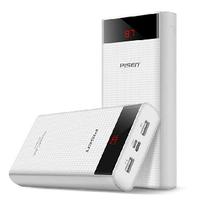 Pin sạc dự phòng Pisen Power Cube 20000mAh Type-C 2x USB Smart