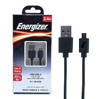 Cáp Sạc ENERGIZER CL USB Micro 20cm C12UBMCBBK4