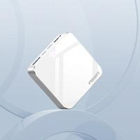 Pin Sạc Dự Phòng Pisen Mini Mirror 10000mAh chính hãng (Mirro Double Side + Hợp Kim Mac, Multi-U, 2x USB, LED)