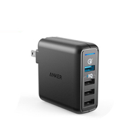 Củ Sạc Anker 4 cổng PowerPort Speed 4 43.5w, 1 cổng Quick Charge 3.0