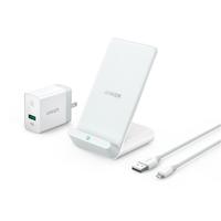 Sạc nhanh không dây Anker PowerWave 7.5w Kèm Sạc Quick Charge 3.0