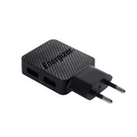 Củ Sạc ENERGIZER LW 2.4A 2 USB Kèm cáp sạc USB - AC2BEULCMM