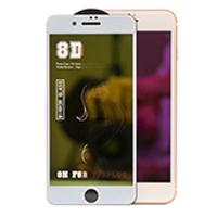 Kính dán cường lực điện thoại 8D dành cho iPhone: 6/6S, 6+/6S+, 7/7+, 8/8+, X/XS, XS MAX, XR
